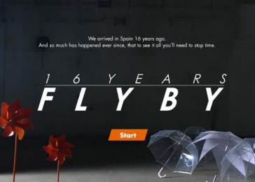 ING Direct: 16 Years  Fly By, 1 Digital Advert by Attic Films, J. Walter Thompson Madrid, OgilvyOne Madrid