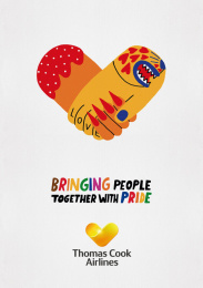 Thomas Cook Group Airlines: Bringing People Together With Pride, 5 Outdoor Advert by BJL Manchester