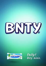 Mars: BNTY Print Ad by BBDO Kyiv