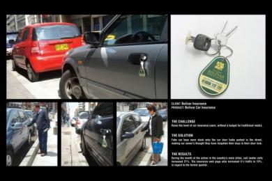 Bolivar Insurance: CAR KEYS Print Ad by Leo Burnett Bogota