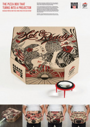 Pizza Hut: Blockbuster Box, 3 Direct marketing by Hogarth Worldwide, Ogilvy & Mather Hong Kong