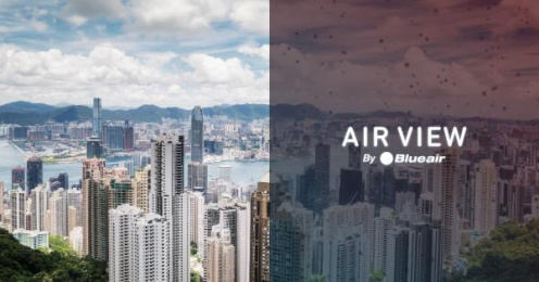 Blue air: Air View [image] 6 Digital Advert by Burson-Marsteller