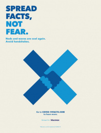 Mucinex: Spread facts, not fear, 3 Print Ad by McCann New York