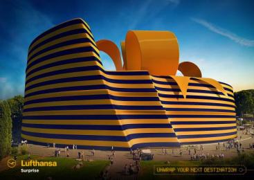 Lufthansa: Coliseum Print Ad by Miami Ad School Hamburg
