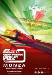 Autodromo Nazionale Monzo: Formula 1 Italian Grand Prix Outdoor Advert by Foolbite Monza