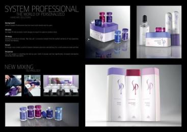 Wella Hair Care: SYSTEM PROFESSIONAL Design & Branding by Landor Hamburg, Selectny.hamburg