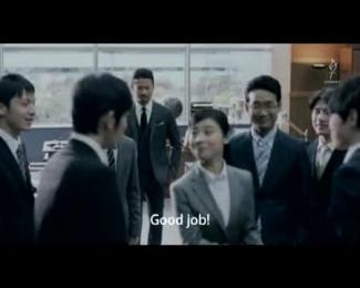 ROOTS AROMA BLACK: MOVE ON HANDSHAKE Film by Dentsu Inc. Tokyo, TYO Inc