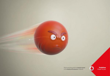 Vodafone: Speed Tears, 2 Print Ad by JWT Albania