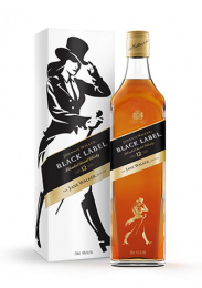 Johnnie Walker Black Label Whisky: Jane Walker Black Label Design & Branding by Anomaly New York