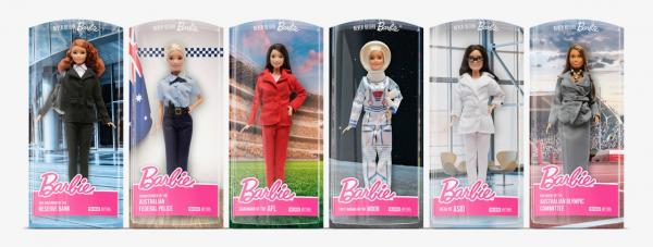 Barbie: Never Before Barbie Print Ad by Clemenger BBDO Melbourne