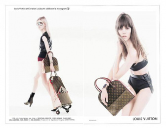 Louis Vuitton: LOUIS VUITTON Monogram, 4 Print Ad