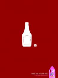 Vanish: Ketchup Print Ad by Euro Rscg Sao Paulo