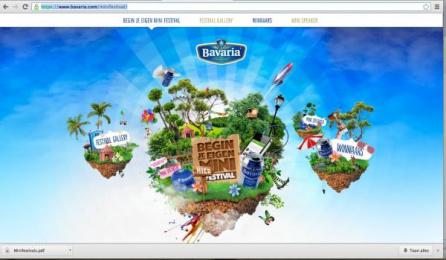 Bavaria Beer: Bavaria MIni Festivals Digital Advert by Selmore