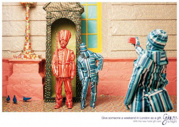 HOTEL GIFTCARD: London Print Ad by Lowe@Alfred Amsterdam