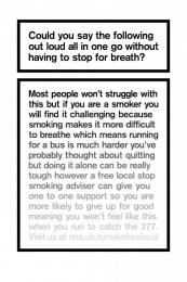 The Breath Test, 3 Print Ad by AMV BBDO London, Grand Visual