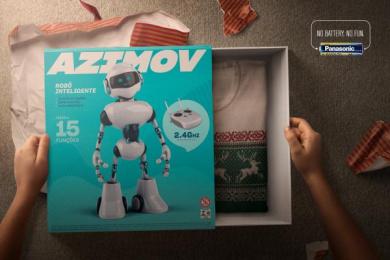 Panasonic: Robot Print Ad by Nbs