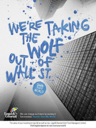 Legal & General: Wall Street Print Ad by M&C Saatchi London