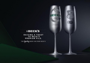 Beck's: Le Beck's: The legendary beer can [Supporting Images] 2 Design & Branding by Serviceplan Munich
