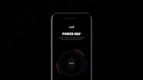 Power Nap App: Tele2 Power Nap Digital Advert by Akestam.holst Stockholm, STATE interactive