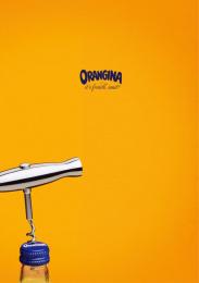 Orangina: Corkscrew Print Ad by Freelance