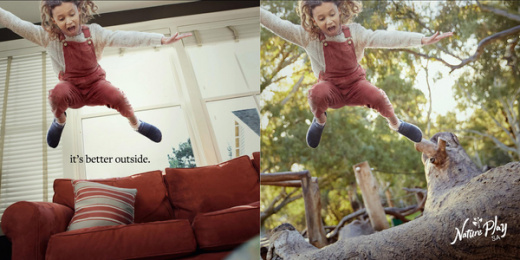 Nature Play SA: It's Better Outside, 3 Print Ad by Showpony Advertising