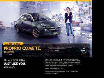Opel: Just Like You 2 Print Ad by Scholz & Friends Hamburg