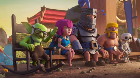 Supercell: CLASH ROYALE CAMPAIGN, 2 Film by Barton F. Graf New York