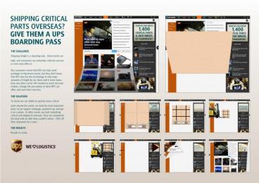 UPS: WORLDWIDE EXPRESS FREIGHT LAUNCH Digital Advert by Ogilvy & Mather New York