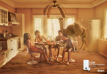 E.ON: Kitchen Print Ad by M&C Saatchi Milan