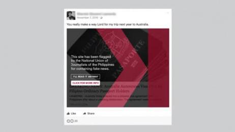 The National Union Of Journalists /NUJP: Fakeblok Digital Advert by BBDO Guerrero Makati City