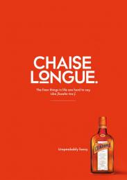 Remy Cointreau: Chaise Longue Print Ad by McCann Prague