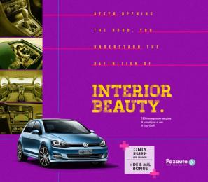 Volkswagen: Golf, 2 Print Ad by G Marketing Comunicação