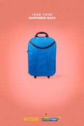 Gollo: Happy Luggage, 2 Print Ad by McCann San José