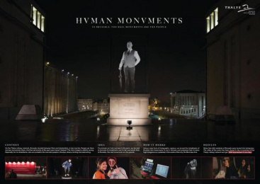 Thalys: Case study Outdoor Advert by Rosapark Paris