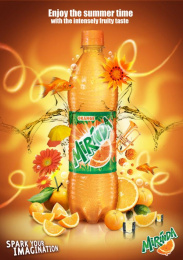 Mirinda: Orange Print Ad by Impact BBDO Cairo