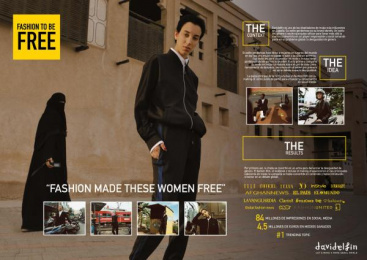 Davidelfin: Fashion To Be Free  Case study by DDB Madrid