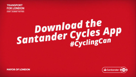 Santander: Cycling Can, 1 Film by mcgarrybowen London