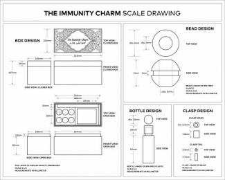Ministry Of Public Health: The Immunity Charm [image] 2 Design & Branding by McCann Erickson Mumbai
