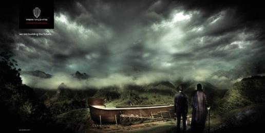 Peri Yachts: Noah's Arc Print Ad by Cosmic Creative