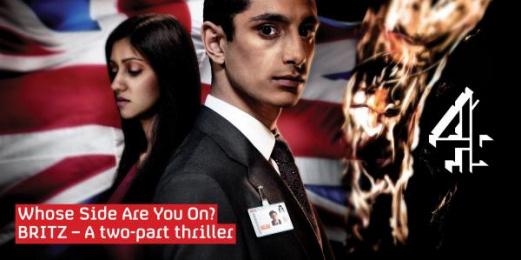 'britz' Tv Show: BRITZ Outdoor Advert by 4creative