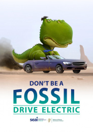 SEAI (Sustainable Energy Authority of Ireland): Don't be a Fossil, 5 Print Ad by TBWA\Dublin