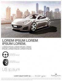 Faber-Castell: Car Print Ad by Inbrax Santiago