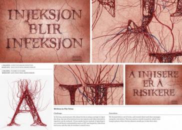The Norwegian Agency of Welfare: Written in The Veins Design & Branding by Kill Your Image, Kitchen Leo Burnett Oslo