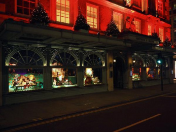 Fortnum & Mason: Christmas Windows, 21 Outdoor Advert by Otherway