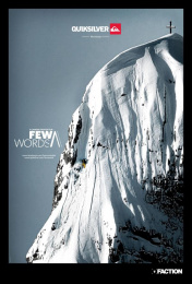 Quiksilver: Few Words Print Ad by BETC Music USA