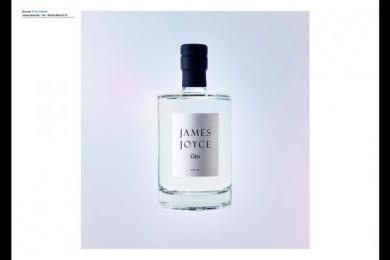 James Joyce Gin: James Joyce Gin, 5 Design & Branding by Shane O'Riordan Design Ireland