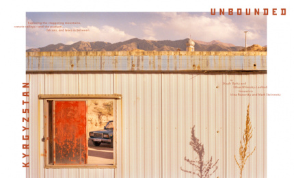 Airbnb: Kyrgyzstan Unbounded, 1 Print Ad by Airbnb / San Francisco