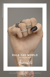 Annoushka: Rule the World, 1 Print Ad by Mr. President London