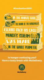 McDonald's: Graduation 2020 - Munch Digital Advert by Leo Burnett Milan