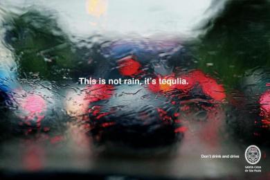 Santa Casa De Misericordia De Sao Paulo: Tequila Print Ad by Y&R Sao Paulo